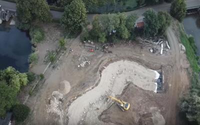 Kloster Vinnenberg – Renaturierung der Bever